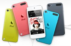 New iPod Touch just announced - fun colors