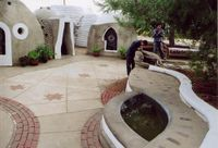 ECO DOME: 800 sq/ft single family residence consisting of two joined Eco-Domes (one eco dome is 400 sq ft.)