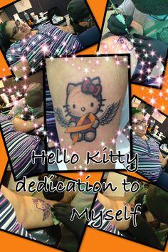 My multiple sclerosis Hello Kitty tattoo