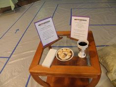 Passover prayer station