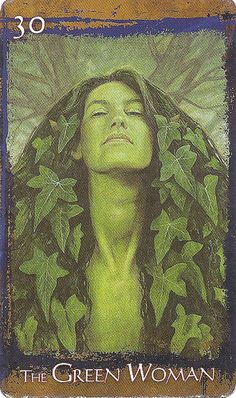 The Green Woman By Brian Froud.