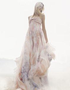 Floaty dress.