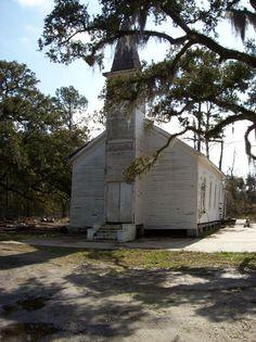 church in Slidell, Louisiana that survived Hurricane Katrina