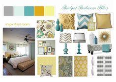 Budget Bedroom Bliss http://wannabedomesticdiva.blogspot.com/2012/08/master-bedroom-makeover.html