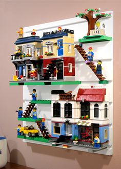 BRICK RACK | Display and Organize your LEGO sets, minifigures and Creations | GALLERY