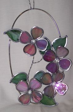 stainglass, stain glass, flower