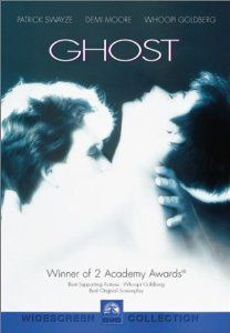 """The movie """"Ghost""""   Patrick Swayze and Demi Moore"""