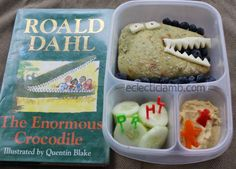 Dahl Enormous Crocodile Lunch | packed in EasyLunchboxes