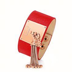 Folli Follie Touch Collection bracelet!  #red #bracelet #follifollie