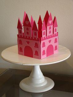 Castelo para decoração de festa com tema Princesa R$15,00