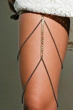 leg jewelry COOL