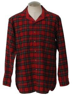 Pendleton Plaid Wool Shirt #2