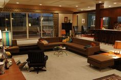 Mad Men - Don & Megan Draper's apt