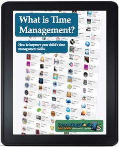 Strategies to improve time management.