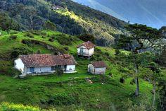 Bello paisaje... cerca de Las Lomitas en el Estado Táchira, Venezuela