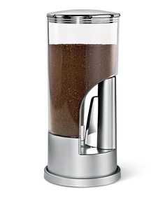 Take a look at the ZEVRO Silver Indispensable Coffee Dispenser on #zulily today!