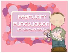 February Punctuation (S. Malek Freebie)