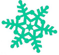 Winter Clip Art | Snowflake Clipart