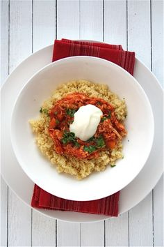 Moroccan Chicken Tagine with Lemon and Mint Couscous