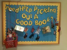 High School Library Bulletin Boards | Reading bulletin board: library, school, education, literacy, reading ...