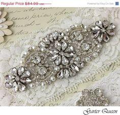 SALE 15 Bridal Garter Wedding garter Lace garter by GarterQueen, $72.24