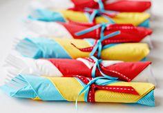 Dr. Seuss party napkins