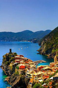 Seaside, Vernazza, Italy