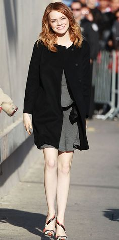 Look of the Day - April 4, 2014 - Emma Stone from #InStyle