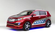 Wonder Woman inspired Sportage