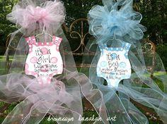 Baby Bubble Door Hanger - Bronwyn Hanahan Original. $55.00, via Etsy.