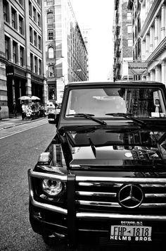 G-class, says it all.