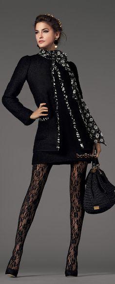Dolce & Gabbana Baroque Collection FW