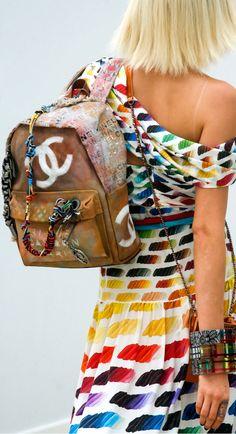 #Chanel  #Spring2014 #handbags