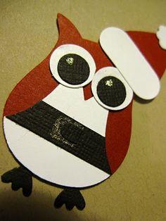christmas cards, idea, owl tutori, pet, bubbles