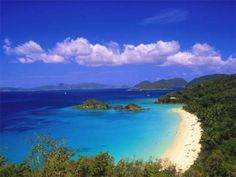 beaches, national geographic, trunk bay, bays, trunks, us virgin islands, places, romantic vacations, caribbean