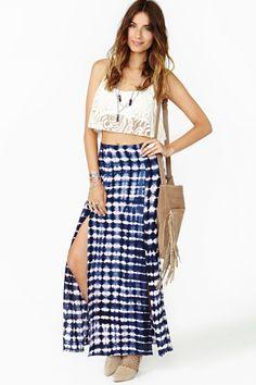 Delirium Maxi Skirt