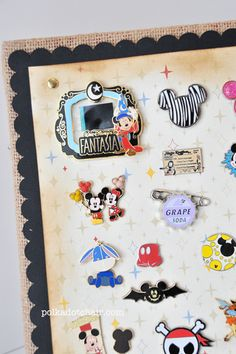 How to display your Disney Pins