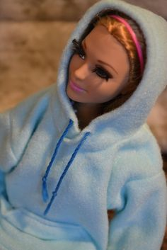Barbie Hoodie Ready to Ship by ashestobeauty on Etsy, $5.95