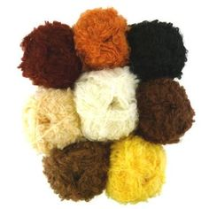 De Witte Engel Mohair Boucle Doll Hair Yarn at A Child's Dream. http://www.achildsdream.com/de-witte-engel-mohair-boucle-doll-hair-yarn/