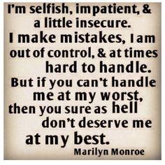 word of wisdom, challenges, amen, marilyn monroe, heroes