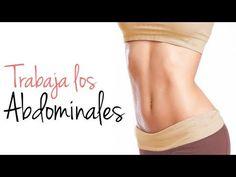 Rutina de ejercicios abdominales.