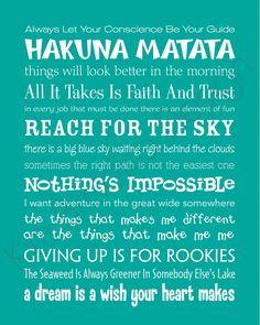 Disney Quotes!