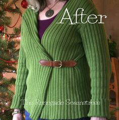 Upcycled thrift store clothes