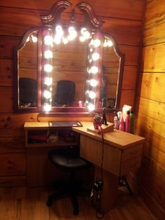 Salon ideas on pinterest salon stations hair salons and for Beauty salon mirrors with lights