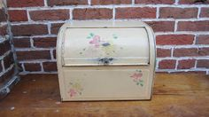 box depress, bread tin, vintag bread, era tin, drawer box, vintag tin, bread boxes, breads, metal bread