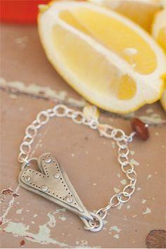 .strong. love bracelet   Lisa Leonard Designs