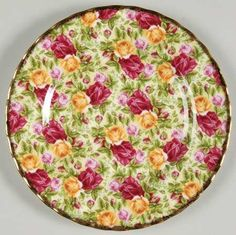 Image detail for -... OLD COUNTRY ROSES-CHINTZ COLLECTION by ROYAL ALBERT CHINA [ROAOLCRCC
