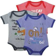 dr seuss onesies. Allen loves Dr. Seuss!! We would have to get these for our children!!!