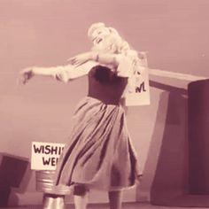 Fancy some DISNEY MAGIC? Ilene Woods inspiring animators at the Walt Disney Studio as the live-action actress for Princess Aurora in Sleeping Beauty