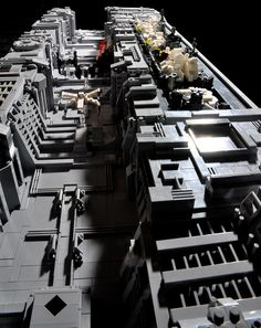 Death Star Trench by Si-MOCs, via Flickr